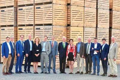 Rijksvastgoedbedrijf bezoekt ERF