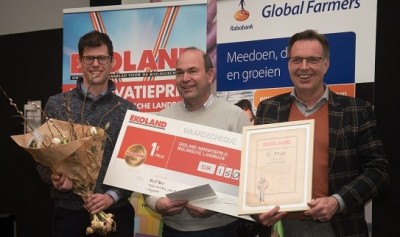 Vereerd: EKOLAND Innovatieprijs voor ERF