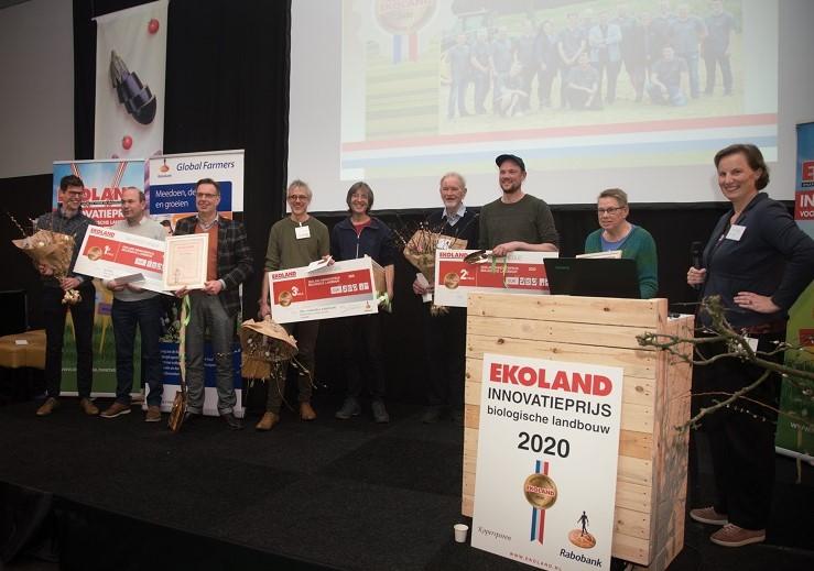 EKOLAND innovatieprijs alle winnaars