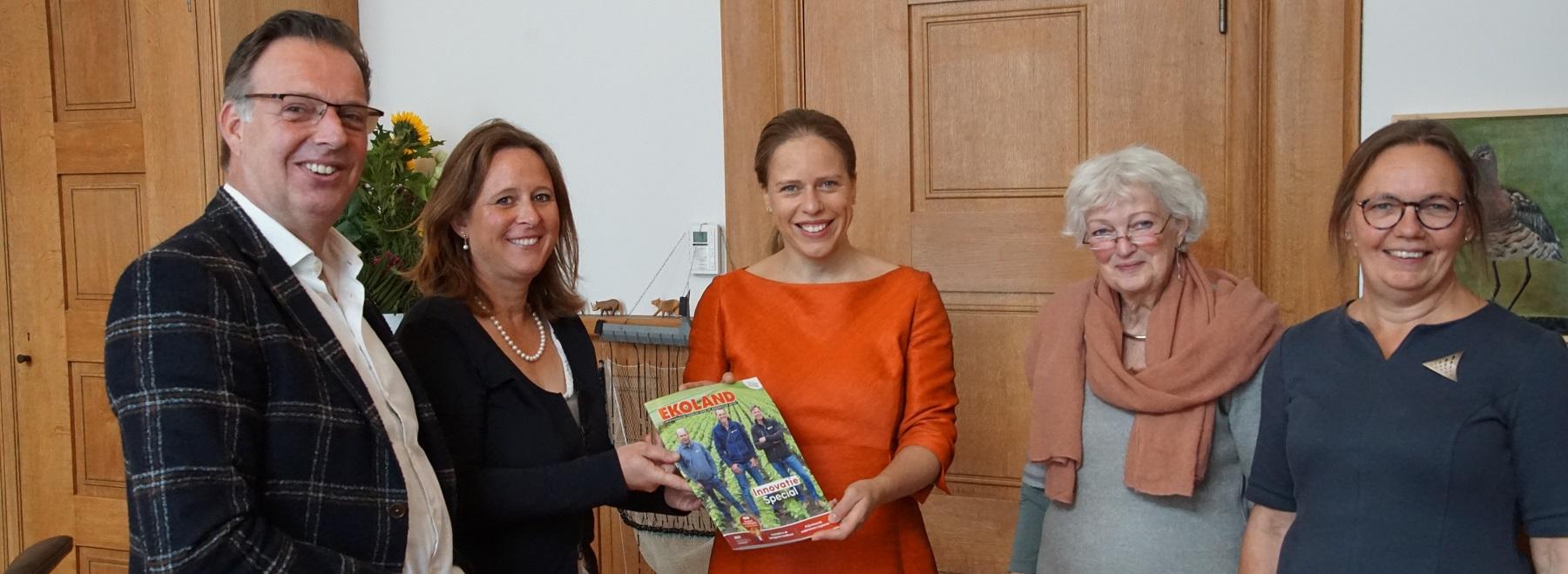 Minister Schouten ontvangt Ekoland Innovatie Special